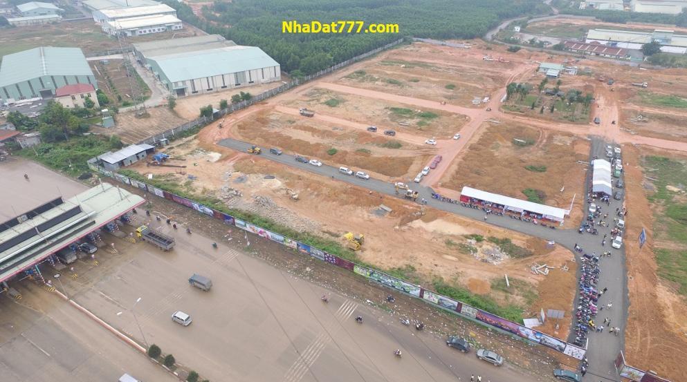 Nhà đất Nhơn Trạch thiết lập mặt bằng giá mới 2018