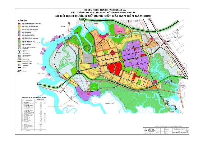 Danh sách dự án BĐS tại huyện Nhơn Trạch, Đồng Nai