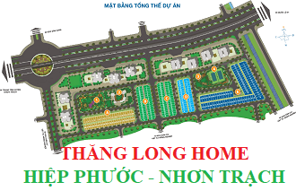 Bán nhà phố liền kề Nhơn Trạch dự án Thăng Long Home giá 4 tỷ 600 triệu