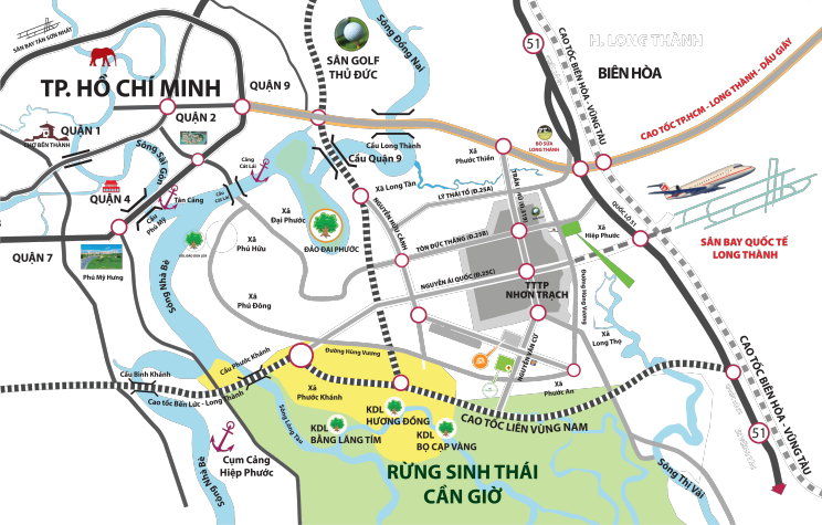 """Thang Long Home – Hiệp Phước gây """"sốt"""" thị trường bất động sản Nhơn Trạch"""