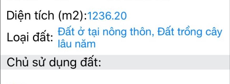 Đất nền Phước Thái theo mét ngang 0963 888 777 giá rẻ